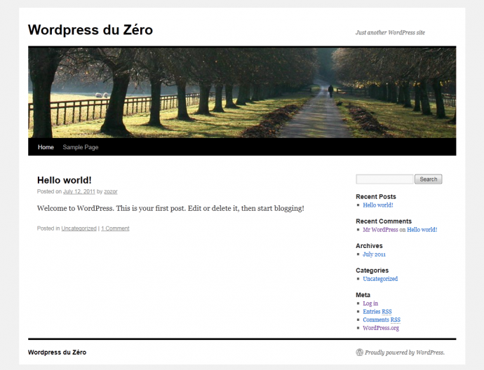 Blog Wordpress du Zéro hébergé sur Windows Azure