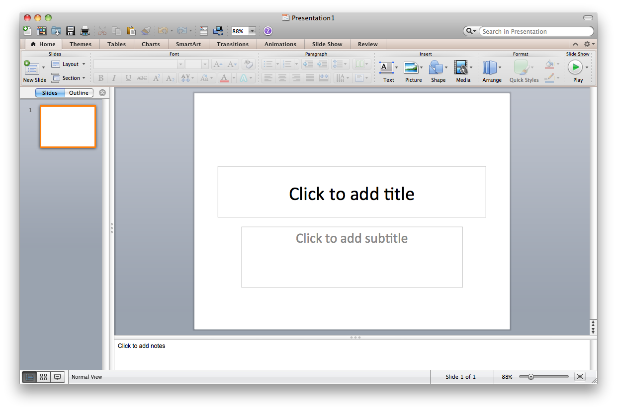 ms office ppt
