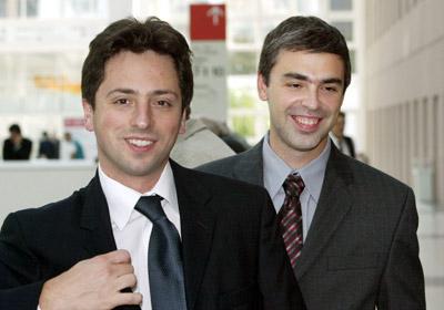 Sergeï Brin et Larry Page, les pères fondateurs de Google, toujours à la direction de l'entreprise aujourd'hui