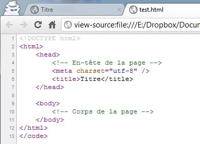 Créez Votre Première Page Web En Html Apprenez à Créer