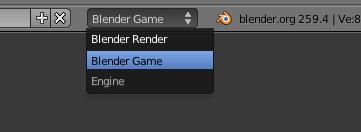 Passer en mode Blender Game
