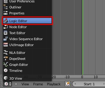 Créer une fenêtre Logic Editor