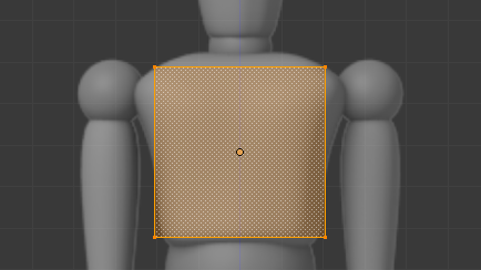 Placer un cube sur le blueprint