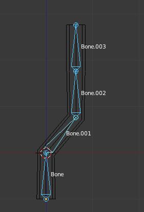 Bone.002 n'est plus soumis au mouvement des os supérieurs