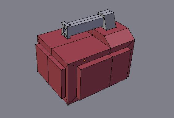 Mon prototype de char de combat