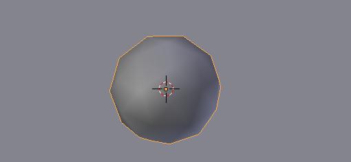 Créez votre obus à partir d'une Icosphere