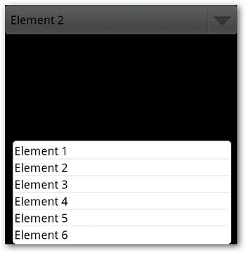 Aucune mise en page pour la liste d'éléments n'a été définie