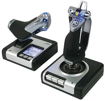Accélérateur et joystick