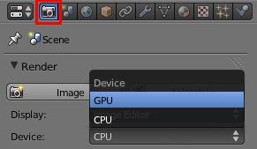 L'utilisation de la Graphics Proccessing Unit accéléra la vitesse de rendu