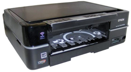 Imprimante pour supports optiques