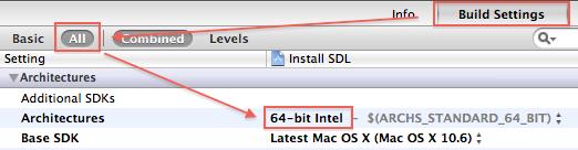 Il faut configurer le projet en 32 bits