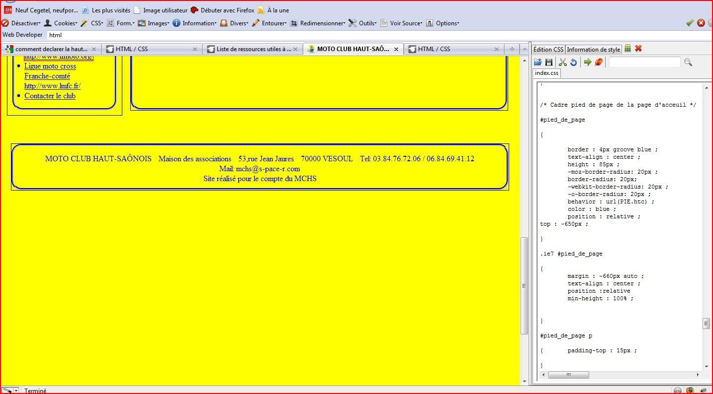 Comment Limiter Le Hauteur D Une Page Web Par Pat 70 Openclassrooms
