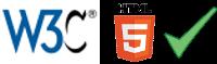 Icones validation HTML5 W3C par Echec et Matt - OpenClassrooms