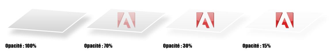 Opacité - Exemples