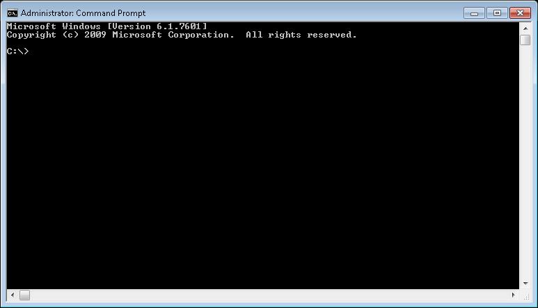 Commande prompt (Windows)