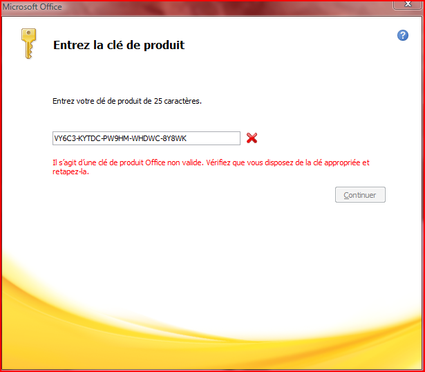 R solu microsoft office 2010 activation version d - Cle activation office professional plus 2013 ...