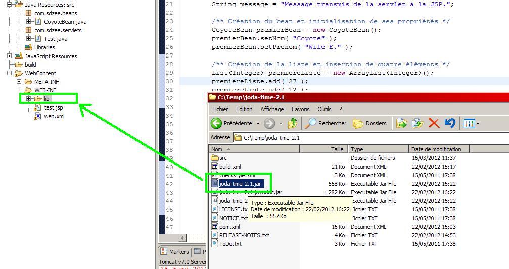 Mise en place de l'API JodaTime dans un projet Eclipse