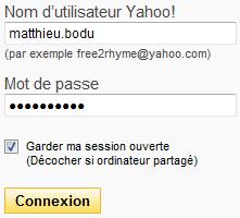 Connexion au Webmail