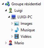 Les bibliothèques partagées de Luigi