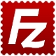 The icon of the well known FileZilla FTP client