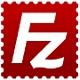 L'icône du célèbre client FTP FileZilla