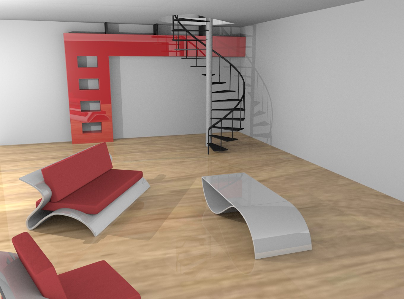 wip salon style loft par clement1207 openclassrooms. Black Bedroom Furniture Sets. Home Design Ideas