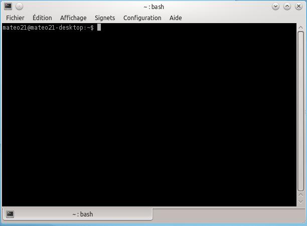 Console de KDE