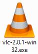 Icône du fichier exécutable de VLC
