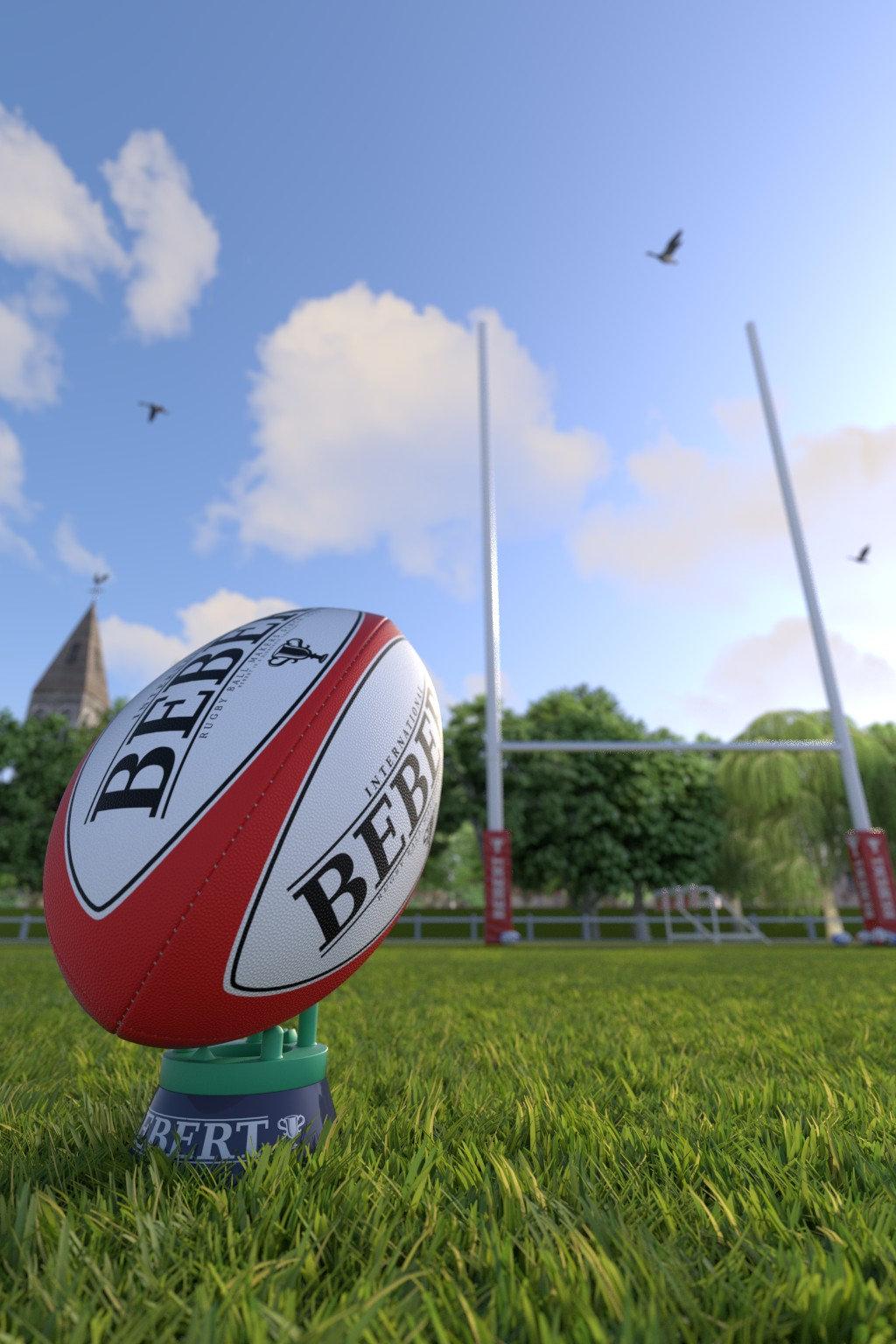 ballon de rugby ventuellement une participation au contest blenderguru par. Black Bedroom Furniture Sets. Home Design Ideas