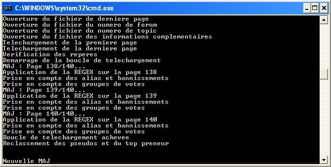 Exemple de script PHP exécuté en CLI