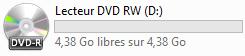 DVD dans l'explorateur Windows