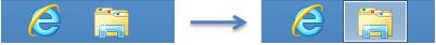Changement d'état d'une icône dans la barre des tâches