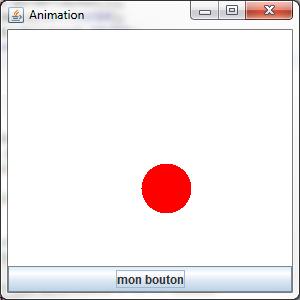 Bouton et animation dans la même fenêtre