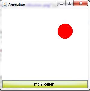 Apparence du bouton lors d'un clic de souris