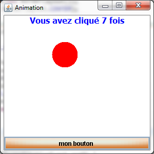 Interaction avec le bouton