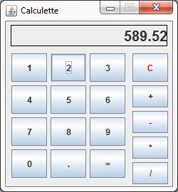 Notre calculatrice MVC