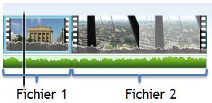 Fichiers présents sur le banc de montage