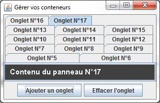 Beaucoup, beaucoup d'onglets…
