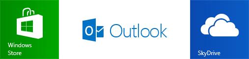 Un compte Microsoft permet d'utiliser les services tels que le Windows Store, Outlook.com ou encore SkyDrive