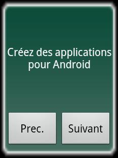 Cet AppWidget permet d'accéder à des tutoriels du Site du Zéro