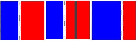 Exemple de JSplitPane avec déplacement du splitter
