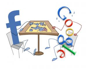 Le combat Google vs Facebook
