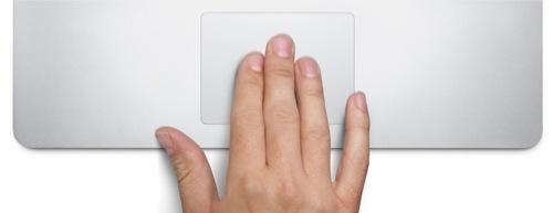 Le TrackPad d'un MacBook Pro