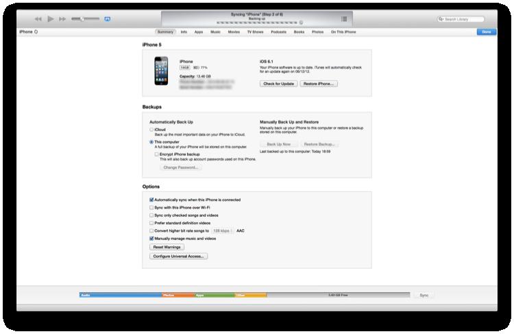 Résumé de notre iPhone