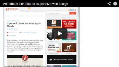 Vidéo design responsive smashing magazine