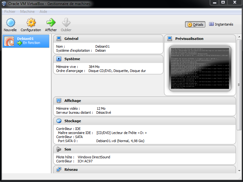 Image Virtualbox