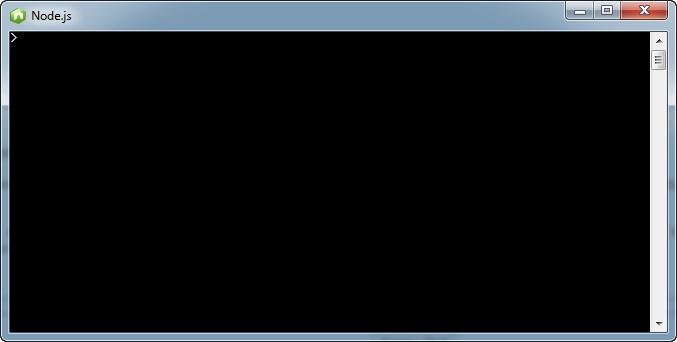 Node.js - L'interpréteur Node.js sous Windows (sera peu utilisé)