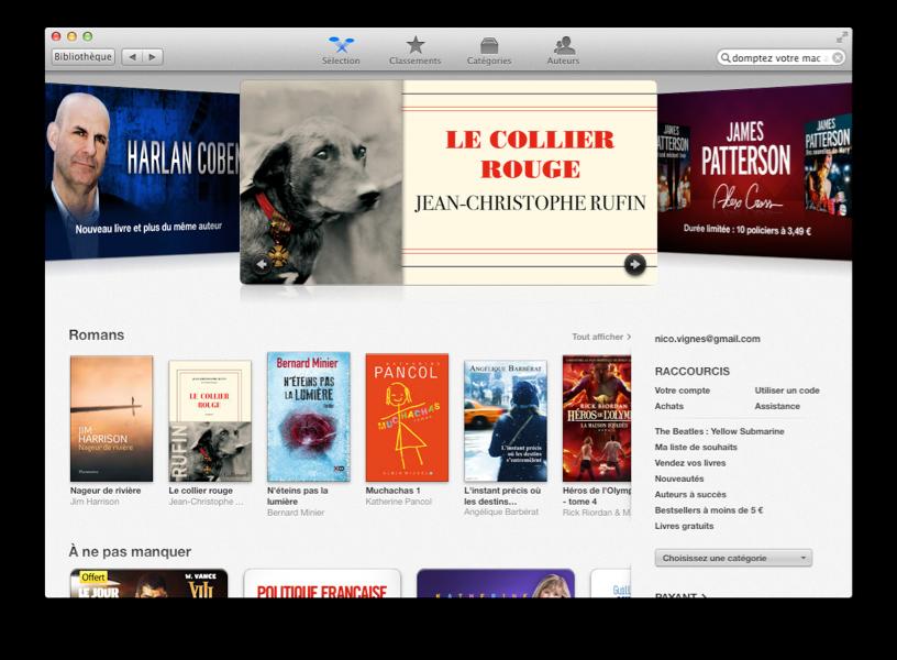 L'iBooks Store