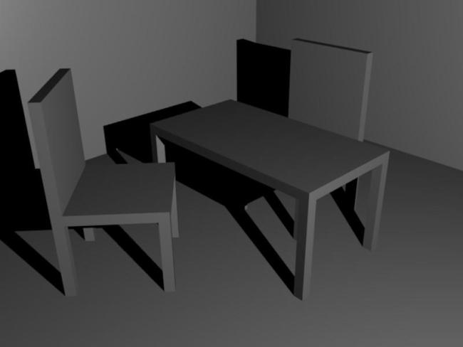 Et voilà notre première scène 3D !