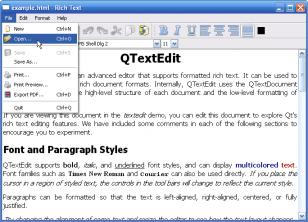 Programme Qt sous Windows XP